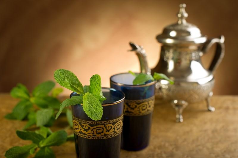 J'adore le thé à la menthe