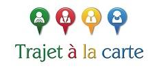 Logo covoiturage journalier www.trajetalacarte.com