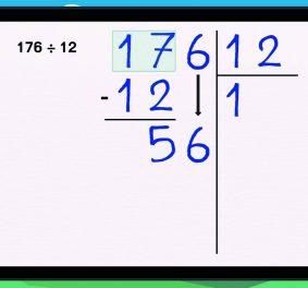 Comment poser une division à 3 chiffres ?