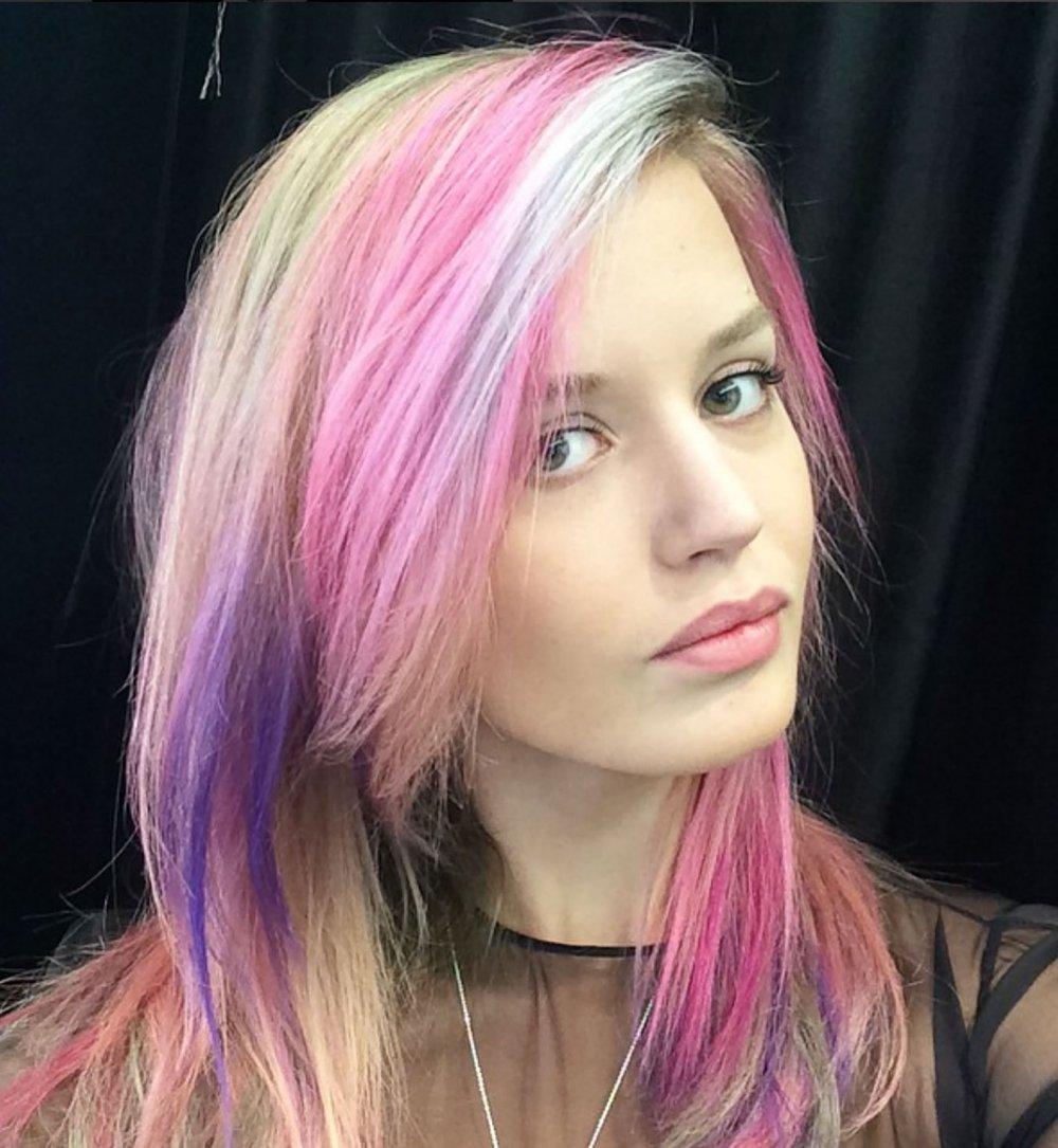 Couleur de cheveux a la mode 2016