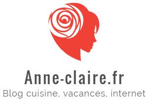 Blog cuisine, vacances, internet