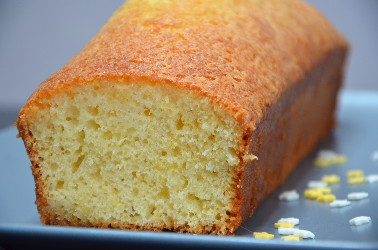 Cake Au Citrons Moelleux