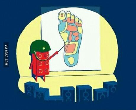lego foot