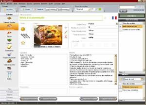 logiciel recette cuisine