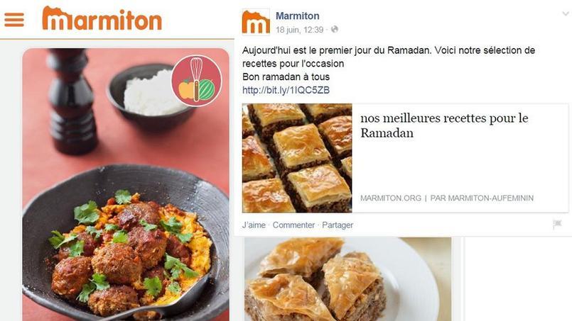 marmiton recettes cuisine