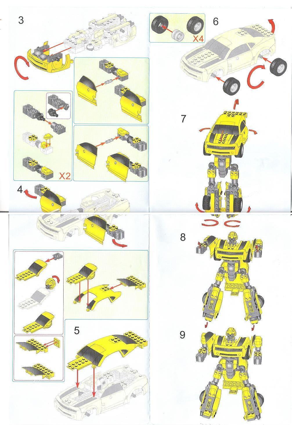 notice de montage lego