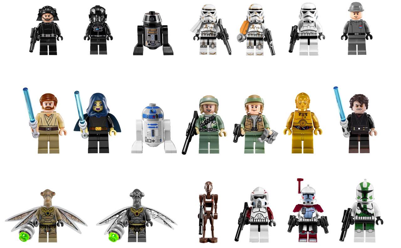personnage lego star wars