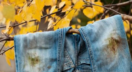 Comment enlever une tache de graisse sur un jean ?